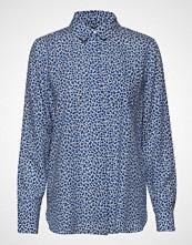 Nanso Ladies Shirt, Pikku Kashmir Langermet Skjorte Blå NANSO