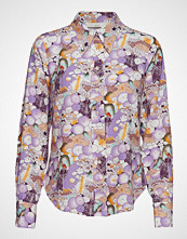 POSTYR Posbeatrice Shirt Langermet Skjorte Lilla POSTYR