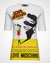 Love Moschino Love Moschino-T-Shirt T-shirts & Tops Short-sleeved Hvit LOVE MOSCHINO