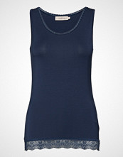 Noa Noa Top T-shirts & Tops Sleeveless Blå NOA NOA