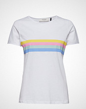 Pieszak Becky O-Neck Tee T-shirts & Tops Short-sleeved Hvit PIESZAK