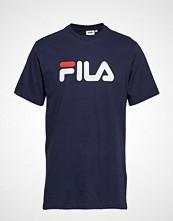 FILA Unisex Classic Pure Ss Tee T-shirts & Tops Short-sleeved Blå FILA