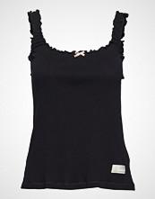Odd Molly Zoom Out Tanktop T-shirts & Tops Sleeveless Svart ODD MOLLY