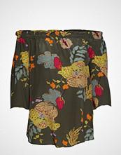 Mos Mosh Ashley Ava Blouse Bluse Kortermet Multi/mønstret MOS MOSH