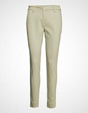 Mos Mosh Abbey Night Pant Bukser Med Rette Ben Creme MOS MOSH