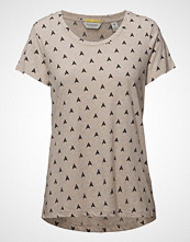 Scotch & Soda Relaxed Fit Tee T-shirts & Tops Short-sleeved Creme SCOTCH & SODA