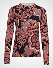 Whyred Brigid Paisley T-shirts & Tops Long-sleeved Rød WHYRED