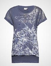 Cream Lavenie Tshirt T-shirts & Tops Short-sleeved Blå CREAM