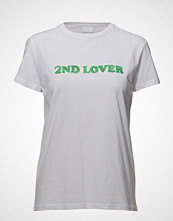 2nd Day 2nd Lover T-shirts & Tops Short-sleeved Hvit 2NDDAY