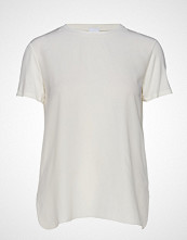 Max Mara Leisure Jajce T-shirts & Tops Short-sleeved Hvit MAX MARA LEISURE