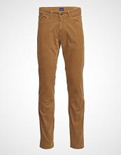 Gant O1. Slim Cord Jeans Slim Jeans Oransje GANT