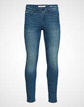 Mango Man Slim-Fit Faded Medium Wash Jan Jeans Slim Jeans Blå MANGO MAN