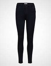 Wrangler Super High Skinny Skinny Jeans Svart WRANGLER