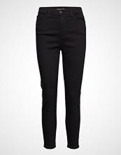Banana Republic Hr Skinny Sportif Tri Stripe Sunset Crop Skinny Jeans Svart BANANA REPUBLIC