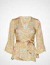 Odd Molly Deep Groove Garden Blouse Bluse Langermet Oransje ODD MOLLY