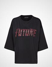 Storm & Marie Future-Ls T-shirts & Tops Short-sleeved Svart STORM & MARIE