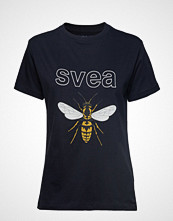 Svea Insect Tee T-shirts & Tops Short-sleeved Svart SVEA