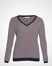 Violeta by Mango Textured Knit Sweater Strikket Genser Multi/mønstret VIOLETA BY MANGO