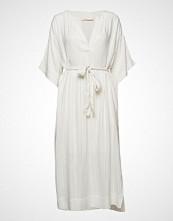 Rabens Saloner Glitter Line Dress Knelang Kjole Hvit RABENS SAL R