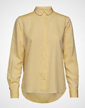 Mos Mosh Clara Nani Shirt Langermet Skjorte Gul MOS MOSH