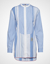 Tommy Hilfiger Felicity Icon Shirt Langermet Skjorte Blå TOMMY HILFIGER