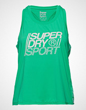Superdry Sport Core Loose Vest T-shirts & Tops Sleeveless Grønn SUPERDRY SPORT
