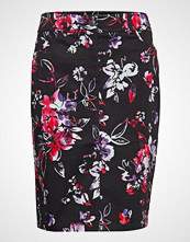 Gerry Weber Edition Skirt Short Woven Fa Knelangt Skjørt Svart GERRY WEBER EDITION
