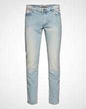 Mango Man Slim-Fit Light Vintage Wash Tim Jeans Slim Jeans Blå MANGO MAN