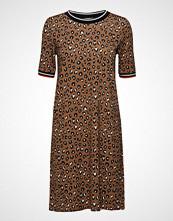 Esprit Casual Dresses Knitted Knelang Kjole Brun ESPRIT CASUAL