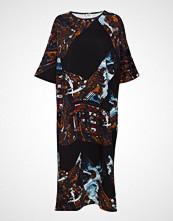 R/H Studio Mumba Dress Knelang Kjole Multi/mønstret R/H STUDIO