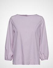 Gant O1. Tp Fine Striped Blouse Bluse Langermet Lilla GANT