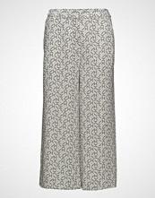 Gant G1. Printed Pants Vide Bukser Hvit GANT