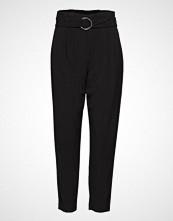 B.Young Danta Belt Pants - Bukser Med Rette Ben Svart B.YOUNG