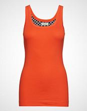 By Malene Birger Newdawn T-shirts & Tops Sleeveless Oransje BY MALENE BIRGER