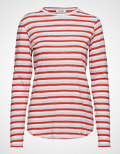 nué notes Paris T-Shirt T-shirts & Tops Long-sleeved Rød NUÉ NOTES