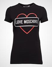 Love Moschino Love Moschino-T-Shirt T-shirts & Tops Short-sleeved Svart LOVE MOSCHINO