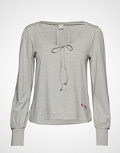 ODD MOLLY ACTIVE WEAR Lazy Sundays Sweater T-shirts & Tops Long-sleeved Grå ODD MOLLY ACTIVE WEAR