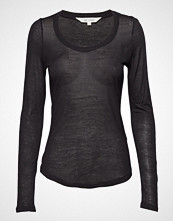 Gai+Lisva Lotus T-shirts & Tops Long-sleeved Svart GAI+LISVA