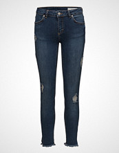 2nd One Nicole 893 Crop Jeans Skinny Jeans Blå 2ND