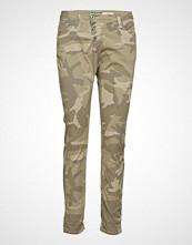 Please Jeans C Camo Print Slim Jeans Beige PLEASE JEANS