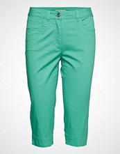 Brandtex Capri Pants Skinny Jeans Grønn BRANDTEX