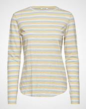 nué notes Paris T-Shirt T-shirts & Tops Long-sleeved Creme NUÉ NOTES