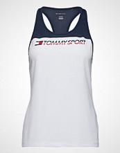 Tommy Sport Tank Top Chest Logo, T-shirts & Tops Sleeveless Hvit TOMMY SPORT