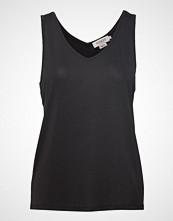 Soaked in Luxury Sl Columbine Tank Top T-shirts & Tops Sleeveless Svart SOAKED IN LUXURY