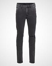 Cheap Monday Sonic Slash Black Slim Jeans Grå CHEAP MONDAY