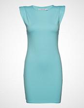 Ivyrevel Shoulder Pad Mini Dress Kort Kjole Blå IVYREVEL