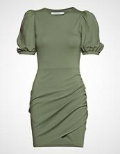 Ivyrevel Short Puff Sleeve Dress Kort Kjole Grønn IVYREVEL