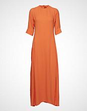 IBEN Phoenix Dress Maxikjole Festkjole Oransje IBEN