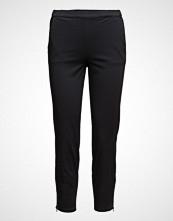 Masai Padme Trousers Ew Basic Bukser Med Rette Ben Svart MASAI
