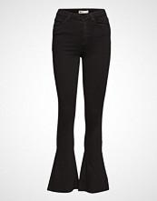 Gina Tricot Natasha Bootcut Jeans Jeans Boot Cut Svart GINA TRICOT